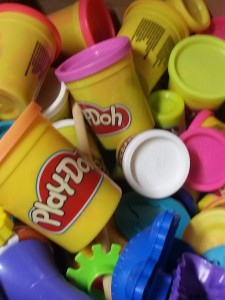 We're gathering everything from Play-Doh to interactive lights to create something for public spaces.